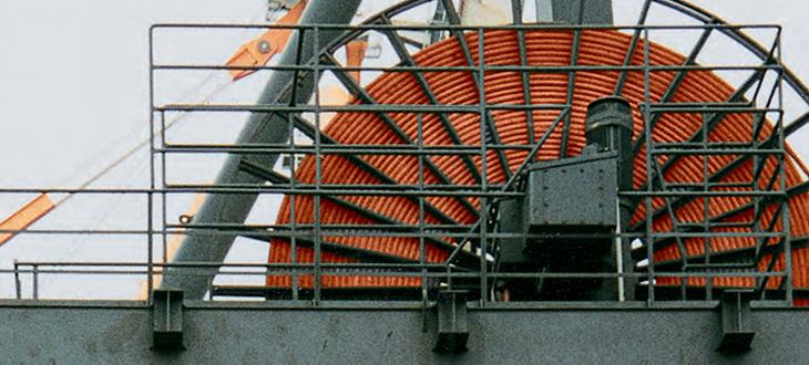 Барабанные кабели на среднее напряжение