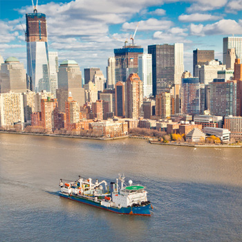 Свет горит в Манхэттене – электричество приходит из Нью-Джерси