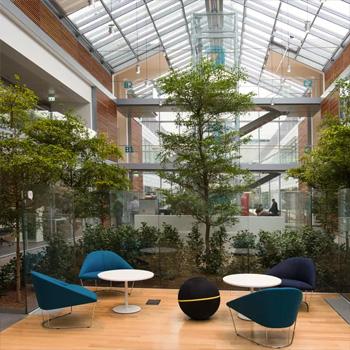 Внутреннее обустройство новой «умной» штаб-квартиры компании Prysmian