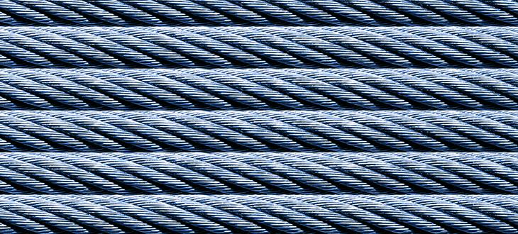 Трос, компенсирующий кабель и комплектующие